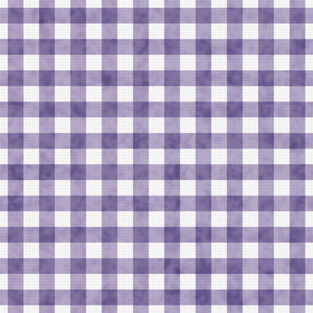 Purple Gingham Pattern Repeat Background that is seamless and repeats