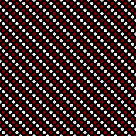 Red and White Small Polka Dot Pattern Repeat Background that is seamless and repeats photo