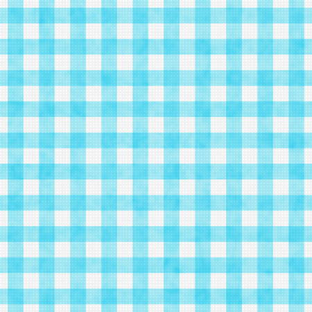 gingham: Bright Teal Gingham Pattern Repeat Background that is seamless and repeats