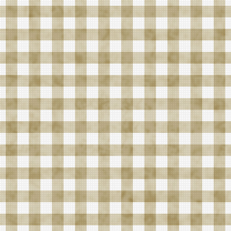 gingham: Beige Gingham Pattern Repeat Background that is seamless and repeats Stock Photo