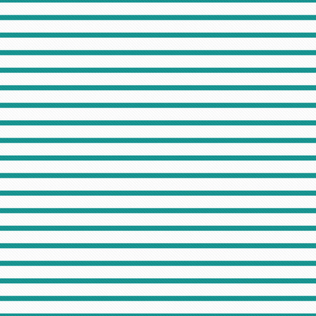 stripe: Thin Teal and White Horizontal Striped Textured Fabric Background that is seamless and repeats