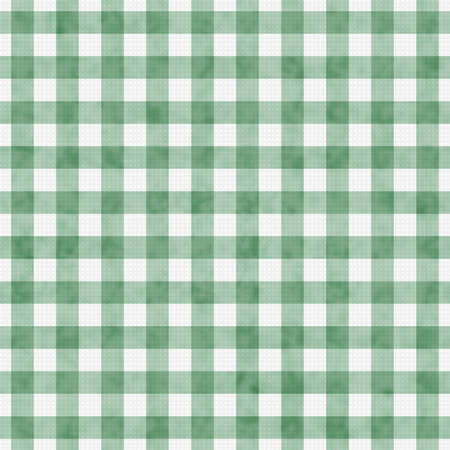 Pale Green Gingham Pattern Repeat Background that is seamless and repeats