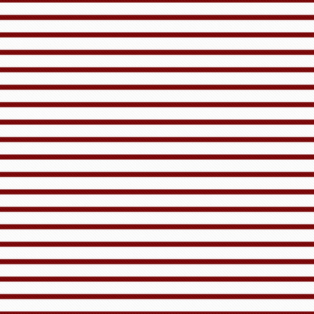 Thin Dark Red and White Horizontal Striped Textured Fabric Background that is seamless and repeats