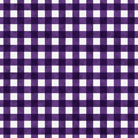 Bright Purple Gingham Pattern Repeat Background that is seamless and repeats photo