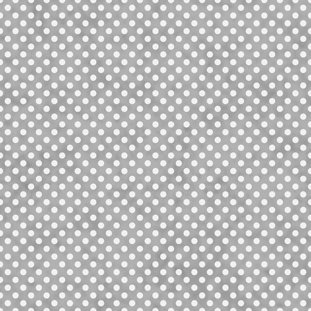gray: Light Gray and White Small Polka Dots Pattern Repeat Background that is seamless and repeats Stock Photo