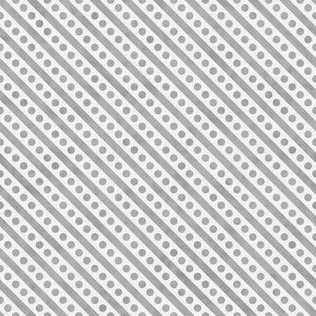 white polka dots: Light Gray and White Small Polka Dots and Stripes Pattern Repeat Background that is seamless and repeats