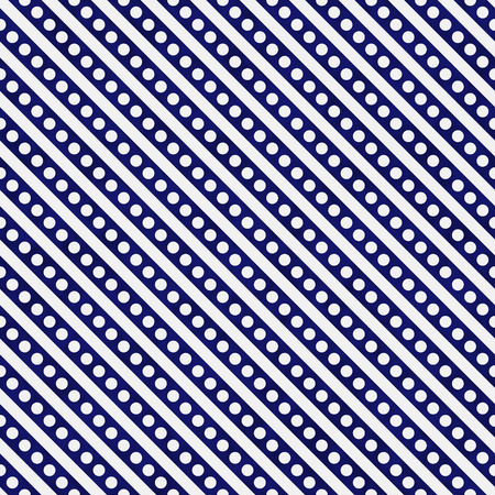 navy blue background: Navy Blue and White Small Polka Dots and Stripes Pattern Repeat Background that is seamless and repeats