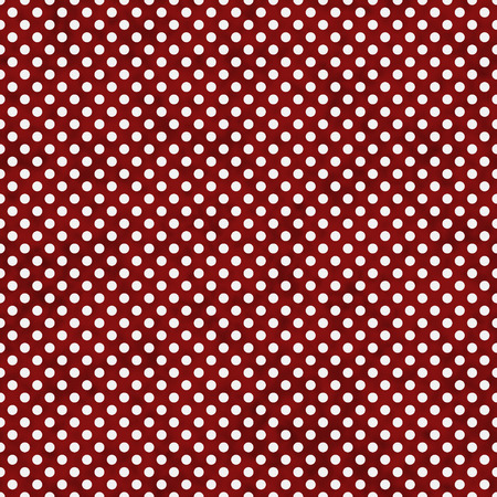 Red and White Small Polka Dots Pattern Repeat Background that is seamless and repeats photo
