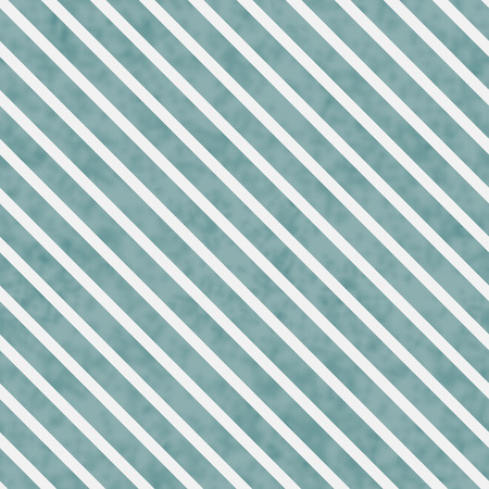 diagonal stripes: Teal and White Striped Pattern Repeat Background that is seamless and repeats Stock Photo