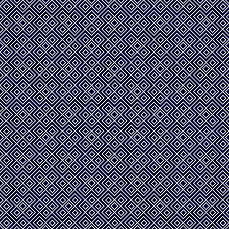 navy blue background: Navy Blue and White Square Geometric Repeat Pattern Background Stock Photo