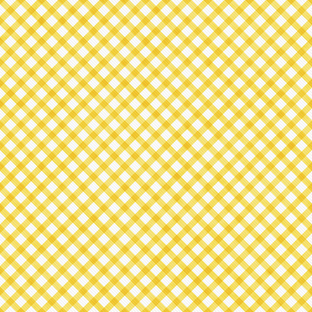 Bright Yellow  Gingham Pattern Repeat Background that is seamless and repeats photo
