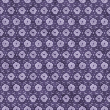 white fabric texture: Purple Flower Repeat Pattern Background that is seamless and repeats