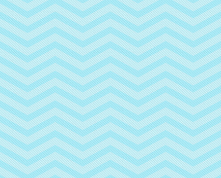 Teal Chevron Zigzag Textured Fabric Pattern Background that is seamless and repeats 免版税图像