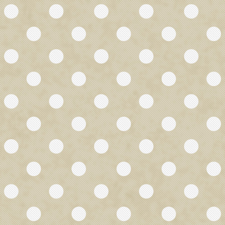 beige: Beige and White Large Polka Dots Pattern Repeat Background that is seamless and repeats