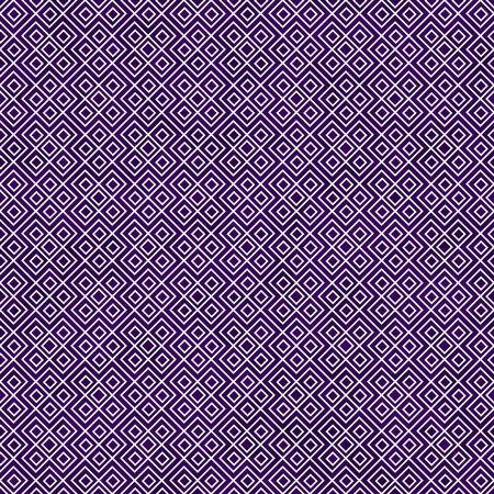 repetition: Purple and White Square Geometric Repeat Pattern Background that is seamless and repeats