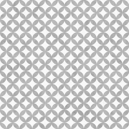 white fabric texture: Gray and White Interconnected Circles Tiles Pattern Repeat Background that is seamless and repeats