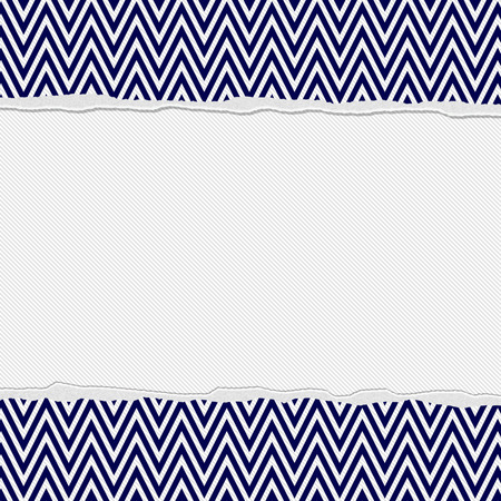 navy blue background: Navy Blue and White Torn Chevron Frame Background with center for copy-space, Classic Torn Chevron Frame