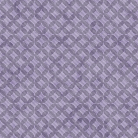 interconnected: Purple Interconnected Circles Tiles Pattern Repeat Background that is seamless and repeats