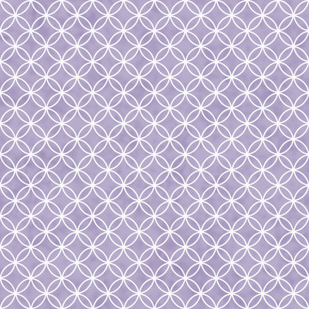 interlocking: Purple and White Interlocking Circles Tiles Pattern Repeat Background that is seamless and repeats