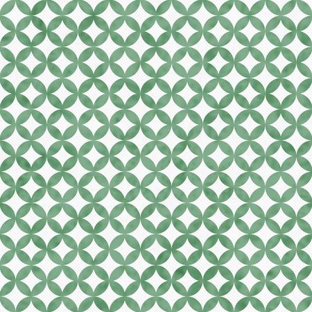 interconnected: C�rculos verdes y blanco Interconectados Azulejos modelo de la repetici�n de fondo que es transparente y se repite