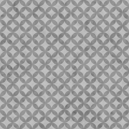 interconnected: Gray Interconnected Circles Tiles Pattern Repeat Background that is seamless and repeats Stock Photo
