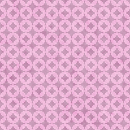interconnected: Pink Interconnected Circles Tiles Pattern Repeat Background that is seamless and repeats