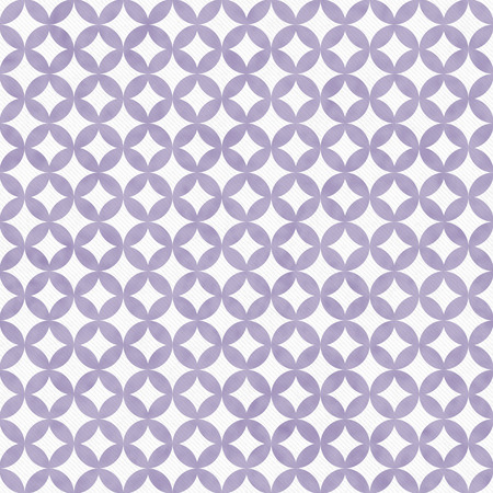 interconnected: Purple and White Interconnected Circles Tiles Pattern Repeat Background that is seamless and repeats