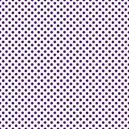 white fabric texture: Dark Purple and White Small Polka Dots Pattern Repeat Background that is seamless and repeats Stock Photo
