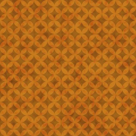 interconnected: C�rculos Naranja interconectados modelo de los azulejos de repetici�n de fondo que es transparente y se repite