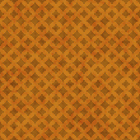 interconnected: Orange Interconnected Circles Tiles Pattern Repeat Background that is seamless and repeats Stock Photo