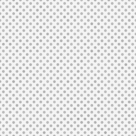 Light Gray and White Small Polka Dots Pattern Repeat Background that is seamless and repeats 写真素材