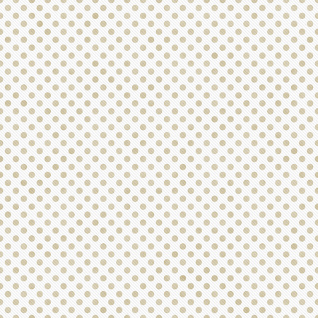beige: Light Beige and White Small Polka Dots Pattern Repeat Background that is seamless and repeats Stock Photo