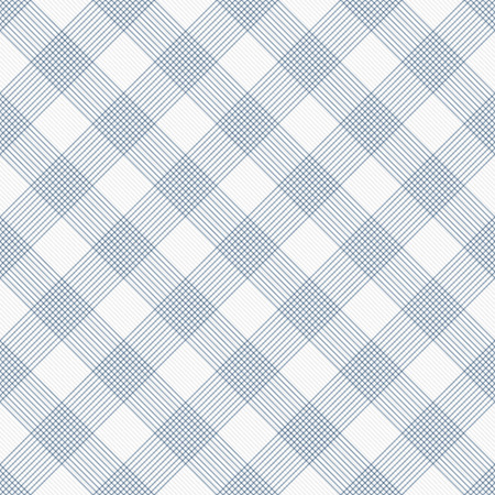 gingham: Blue and White Striped Gingham Tile Pattern Repeat Background that is seamless and repeats