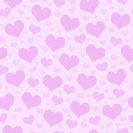 Pink Hearts Tile Pattern Repeat Background that is seamless and repeats