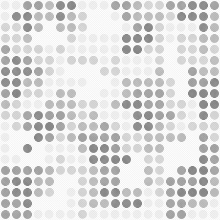 gray: Gray and White Polka Dot Mosaic Abstract Design Tile Pattern Repeat Background that is seamless and repeats