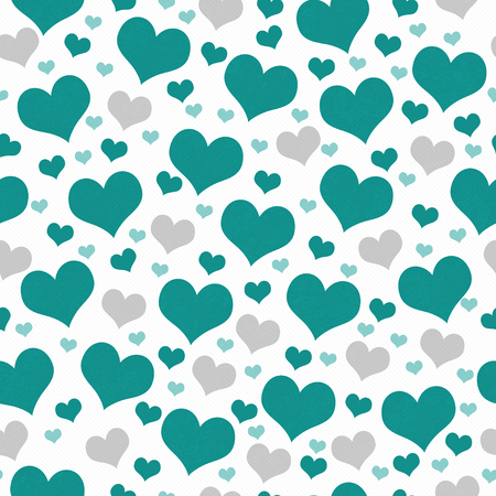 wallpaper vibrant: Green and White Hearts Tile Pattern Repeat Background that is seamless and repeats Stock Photo