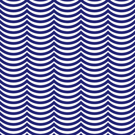 blue navy: Azul marino y blanco de las rayas onduladas Teja modelo de la repetici�n de fondo que es perfecta y repeticiones Foto de archivo