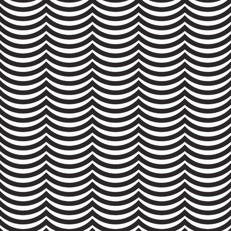 repeats: Black and White Wavy Stripes Tile Pattern Repeat Background that is seamless and repeats
