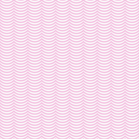 repeats: Pink and White Wavy Stripes Tile Pattern Repeat Background that is seamless and repeats