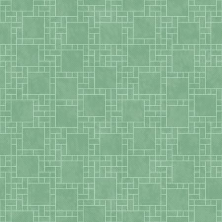 tile background: Green Abstract Geometric Design Tile Pattern Repeat Background that is seamless and repeats