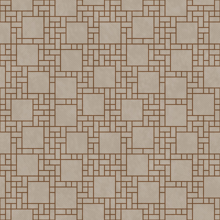 geometric lines: Brown Square Abstract Geometric Design Tile Pattern Repeat Background that is seamless and repeats