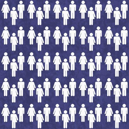 transexual: Azul y Blanco Transg�nero Hombre y Mujer S�mbolo Teja modelo de la repetici�n del fondo