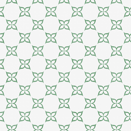 pale green: Pale Green and White Flower Symbol Tile Pattern Repeat Background Stock Photo