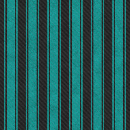 blue lines: Teal and Black Striped Tile Pattern