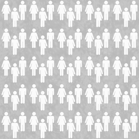 transgender: Gray and White Transgender Man and Woman Symbol Tile Pattern Repeat Background that is seamless and repeats