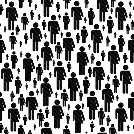 transsexual: Blanco y Negro S�mbolo del transexual modelo del azulejo del fondo de la repetici�n que es perfecta y repeticiones Foto de archivo