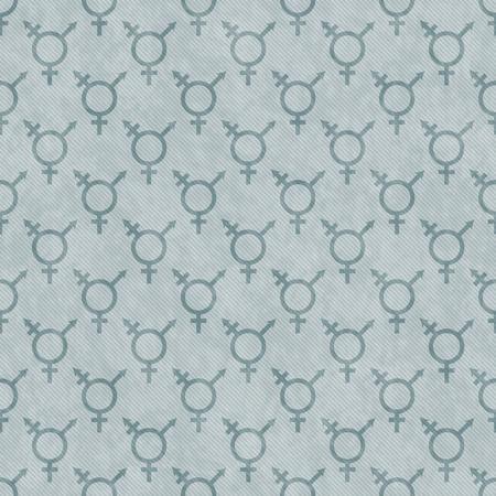 transexual: Verde S�mbolo del transexual Teja modelo de la repetici�n de fondo que es perfecta y repeticiones Foto de archivo