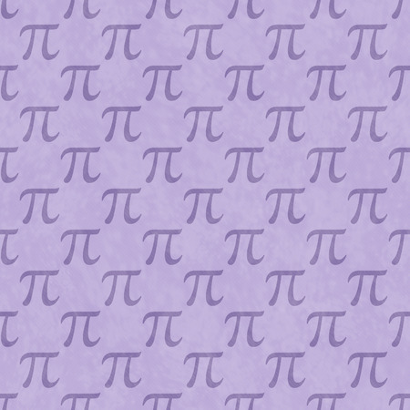 Purple Pi Symbol Design Tile Pattern Repeat Background that is seamless and repeats