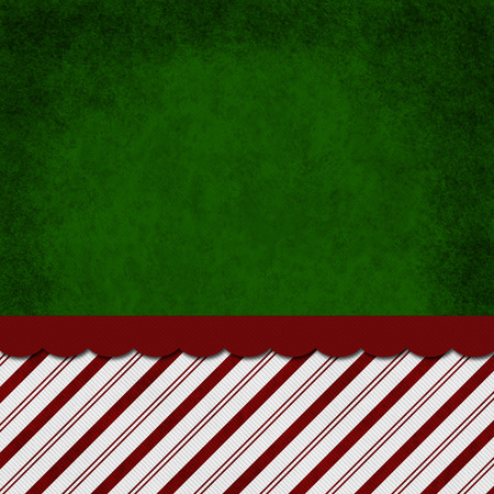 red green: Green, Red and White Striped Candy Cane Striped Grunge Background with top copy space for your message