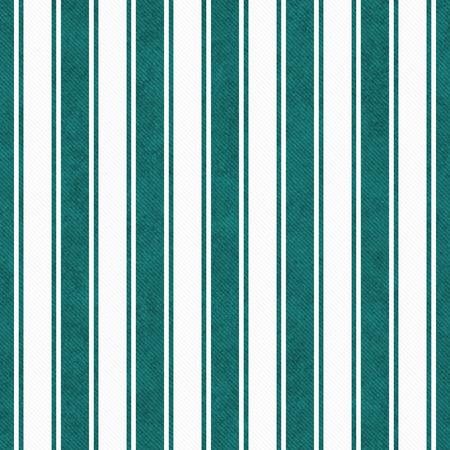 текстура: Teal и белые полосатые плитки шаблон Повторять фон, который бесшовные и повторы Фото со стока